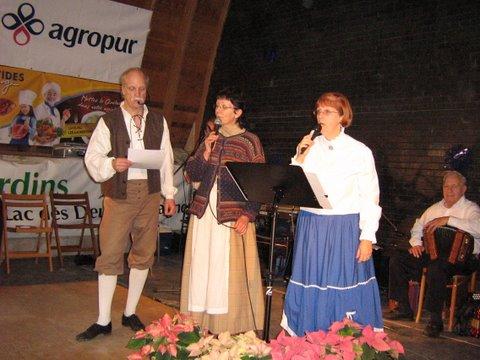 Chansons au Marché public